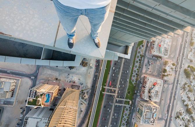 Dubai, fotografiat de la inaltime de Vadim Makhorov - Poza 3