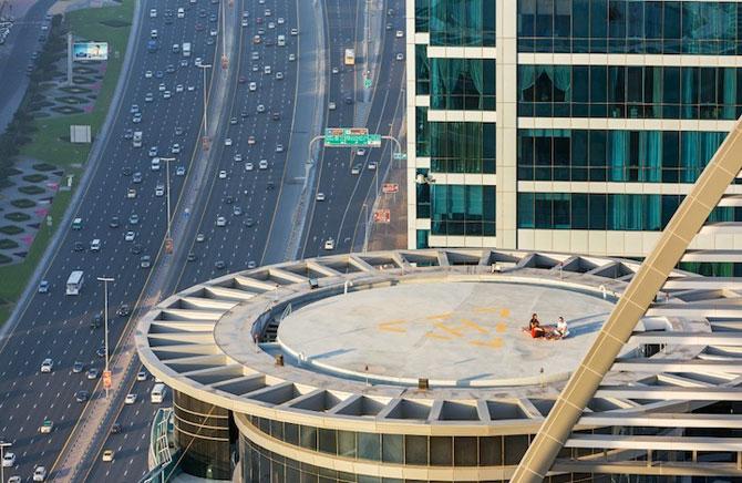 Dubai, fotografiat de la inaltime de Vadim Makhorov - Poza 4