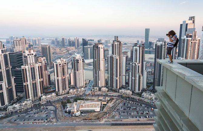 Dubai, fotografiat de la inaltime de Vadim Makhorov - Poza 5