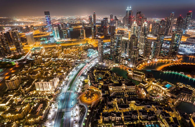 Dubai, fotografiat de la inaltime de Vadim Makhorov - Poza 7