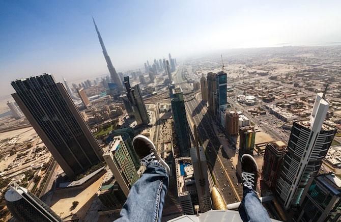 Dubai, fotografiat de la inaltime de Vadim Makhorov - Poza 8