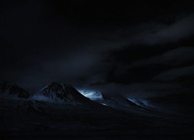 Peisajele Islandei, vazute prin infrarosu