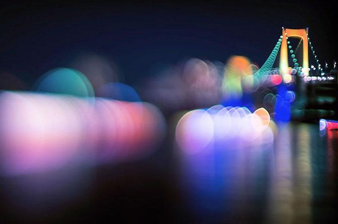 Peisaje de la Tokyo prin bokeh - Poza 2