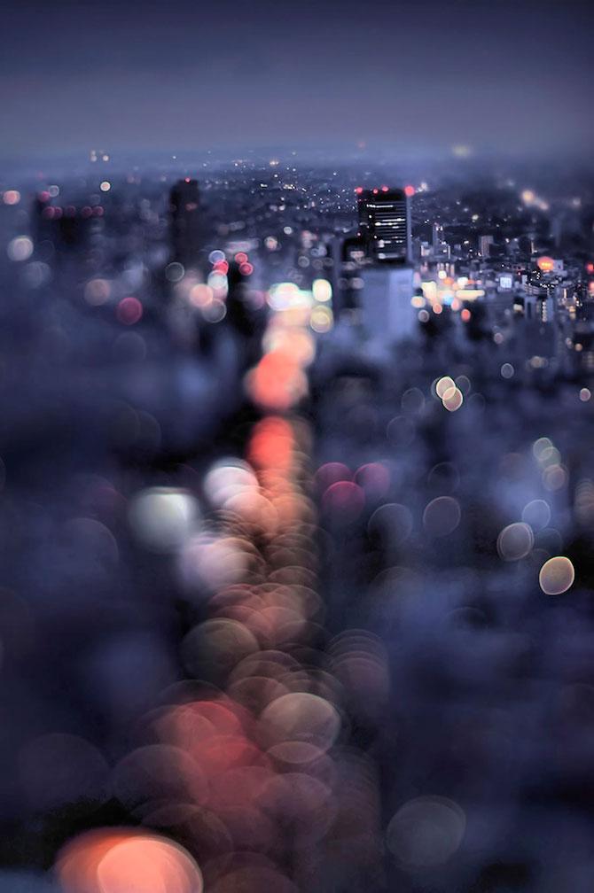 Peisaje de la Tokyo prin bokeh - Poza 3