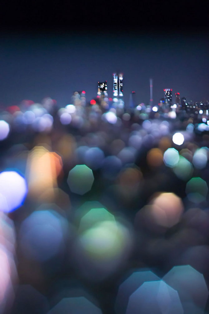 Peisaje de la Tokyo prin bokeh - Poza 4