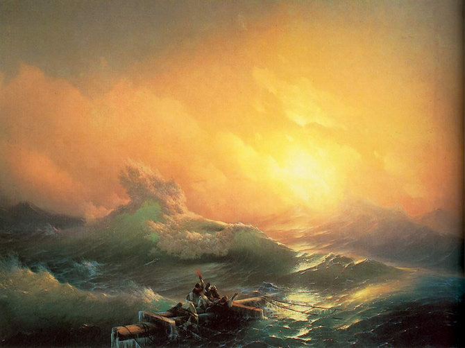 Pictorul si marea – Ivan Aivazovsky - Poza 1