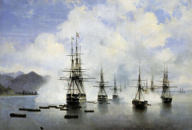 Pictorul si marea – Ivan Aivazovsky - Poza 2