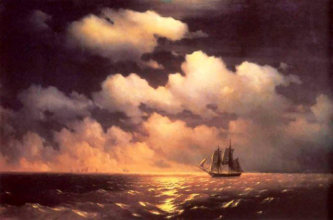 Pictorul si marea – Ivan Aivazovsky - Poza 4