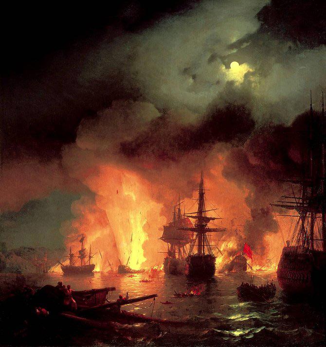 Pictorul si marea – Ivan Aivazovsky - Poza 6