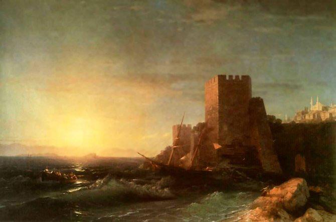 Pictorul si marea – Ivan Aivazovsky - Poza 7