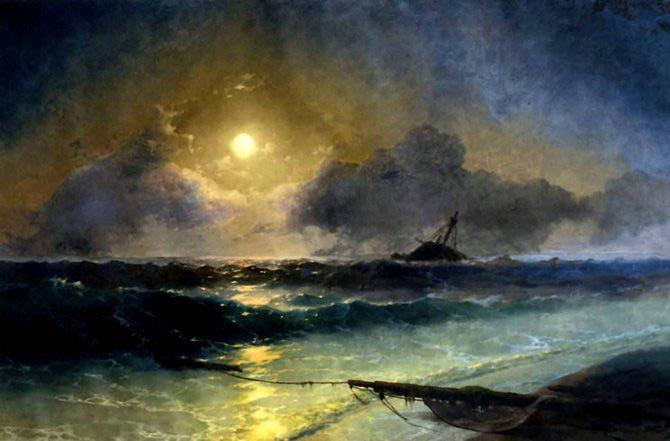 Pictorul si marea – Ivan Aivazovsky - Poza 8