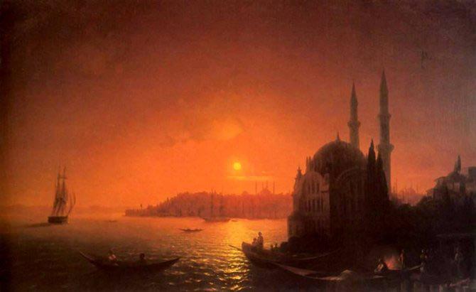 Pictorul si marea – Ivan Aivazovsky - Poza 9