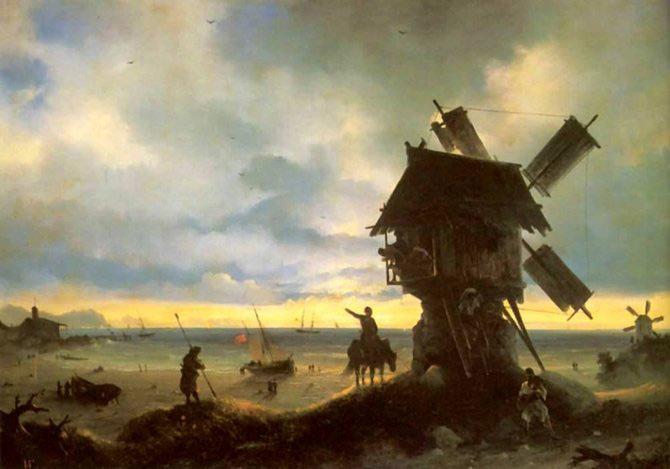Pictorul si marea – Ivan Aivazovsky - Poza 10