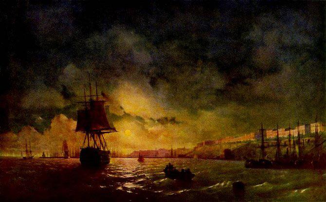 Pictorul si marea – Ivan Aivazovsky - Poza 11