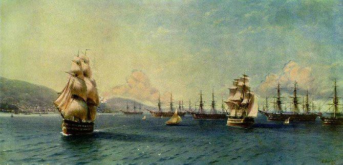 Pictorul si marea – Ivan Aivazovsky - Poza 14