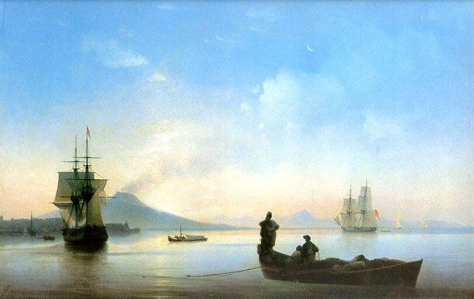 Pictorul si marea – Ivan Aivazovsky - Poza 15