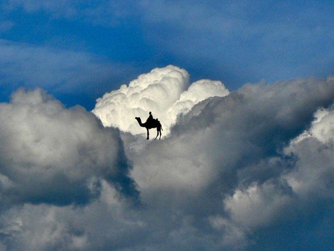 Elio Pallard se joaca printre nori - Poza 4