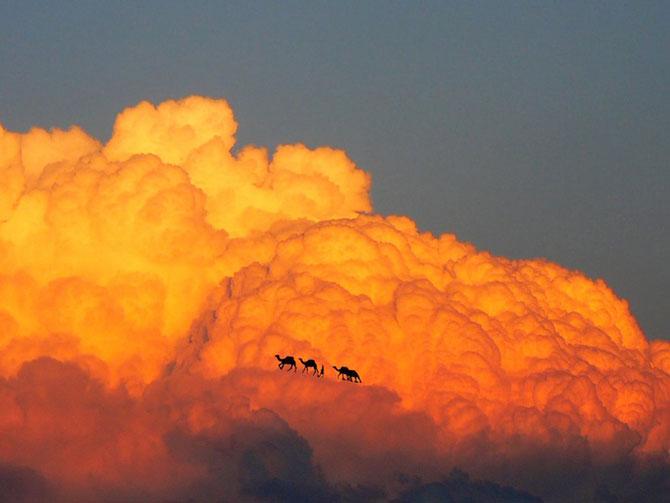 Elio Pallard se joaca printre nori - Poza 6