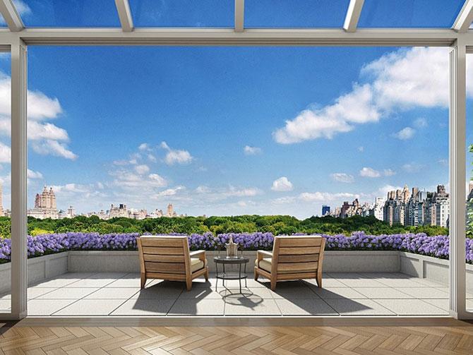 Penthouse cu priveliste la Central Park, New York - Poza 1