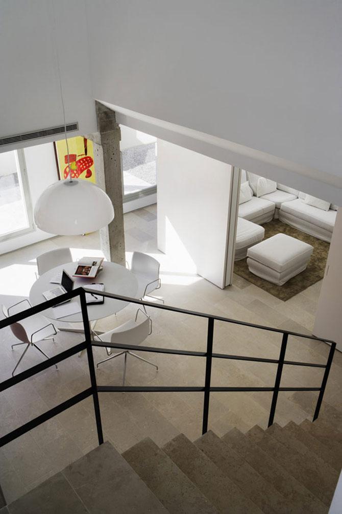 Eleganta simpla pe doua nivele - Penthouse la Madrid - Poza 8