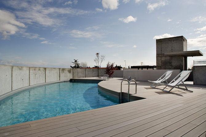 Eleganta simpla pe doua nivele - Penthouse la Madrid - Poza 11