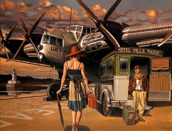 Povestea pictorului precoce: Peregrine Heathcote - Poza 6