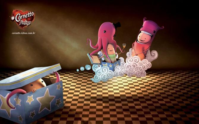 Imaginatia lui Andre Holzmeister naste monstri (3D!) - Poza 6