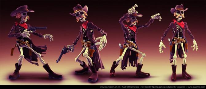 Imaginatia lui Andre Holzmeister naste monstri (3D!) - Poza 12