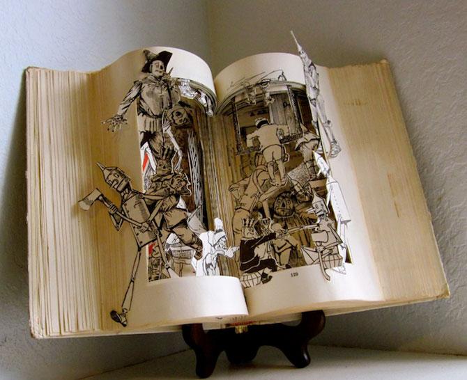 Personajele ies din cartile pentru copii, sculptate de Susan Hoerth - Poza 1