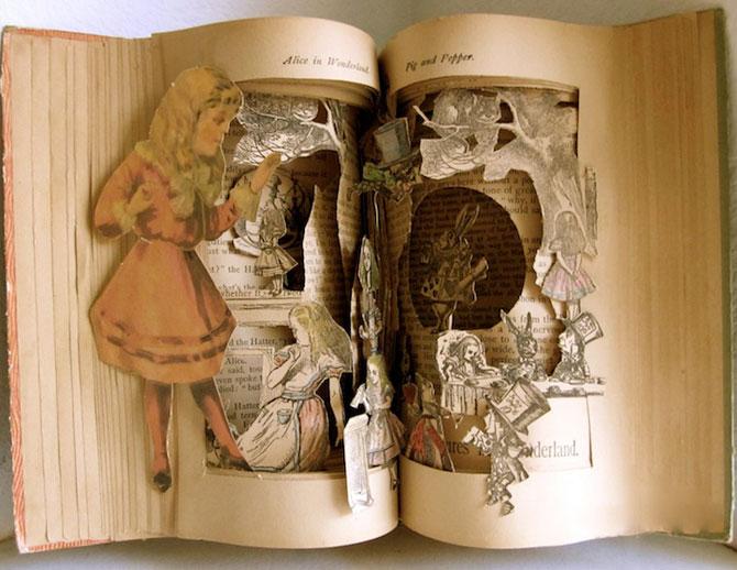Personajele ies din cartile pentru copii, sculptate de Susan Hoerth - Poza 2