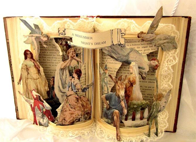Personajele ies din cartile pentru copii, sculptate de Susan Hoerth - Poza 4