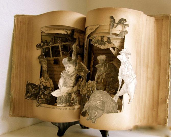 Personajele ies din cartile pentru copii, sculptate de Susan Hoerth - Poza 6