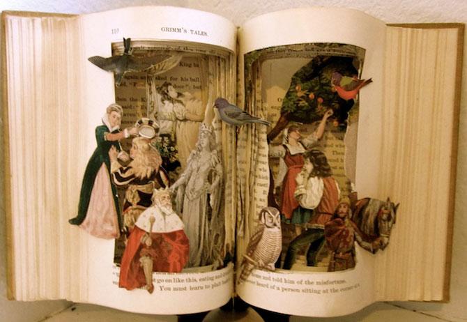 Personajele ies din cartile pentru copii, sculptate de Susan Hoerth - Poza 8