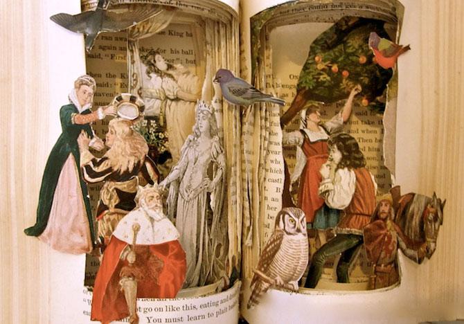 Personajele ies din cartile pentru copii, sculptate de Susan Hoerth - Poza 9