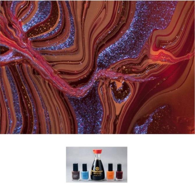 Culorile abstracte din colectia de oje, de Karissa Hosek - Poza 1