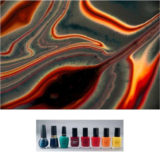 Culorile abstracte din colectia de oje, de Karissa Hosek - Poza 2