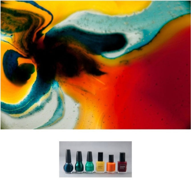 Culorile abstracte din colectia de oje, de Karissa Hosek - Poza 6