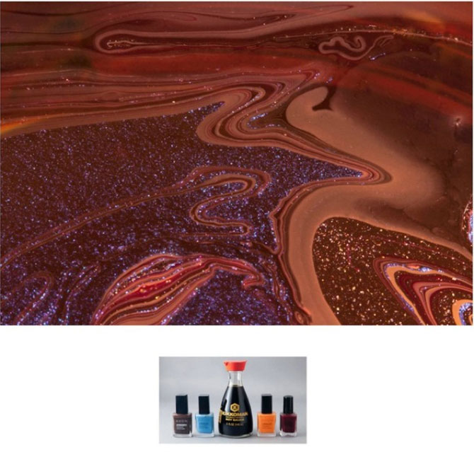Culorile abstracte din colectia de oje, de Karissa Hosek - Poza 8