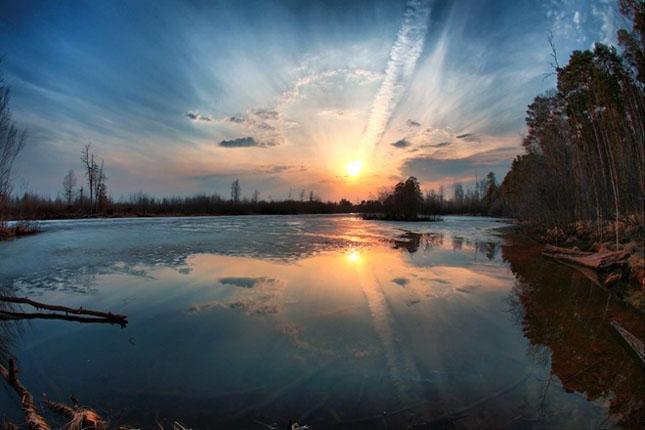 Apus de soare: 33 de poze minunate - Poza 27
