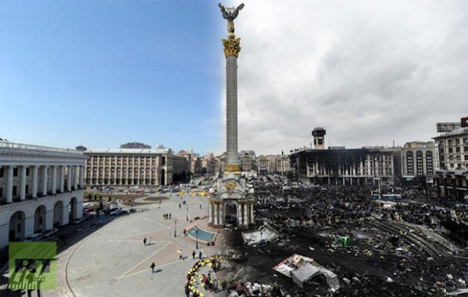 Kiev: Inainte si dupa revoltele de pe Maidan - Poza 1