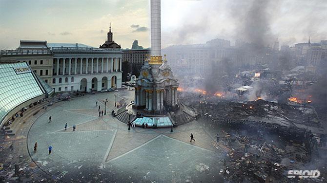 Kiev: Inainte si dupa revoltele de pe Maidan - Poza 2