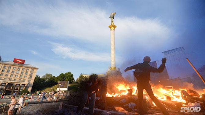 Kiev: Inainte si dupa revoltele de pe Maidan - Poza 4