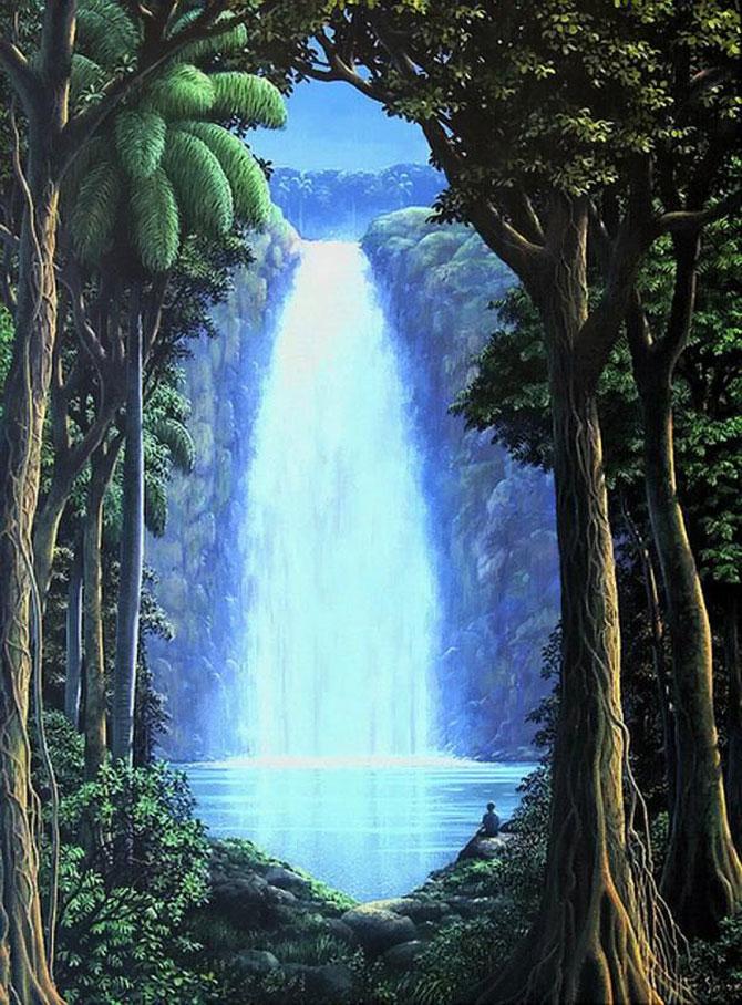 Pictorul norilor, cascadelor si colinelor – Tomas Sanchez - Poza 1