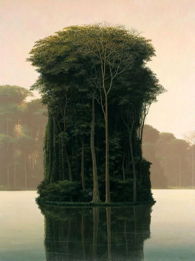 Pictorul norilor, cascadelor si colinelor – Tomas Sanchez - Poza 2