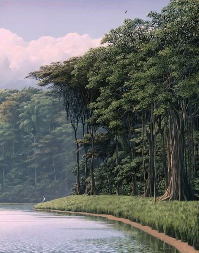 Pictorul norilor, cascadelor si colinelor – Tomas Sanchez - Poza 3