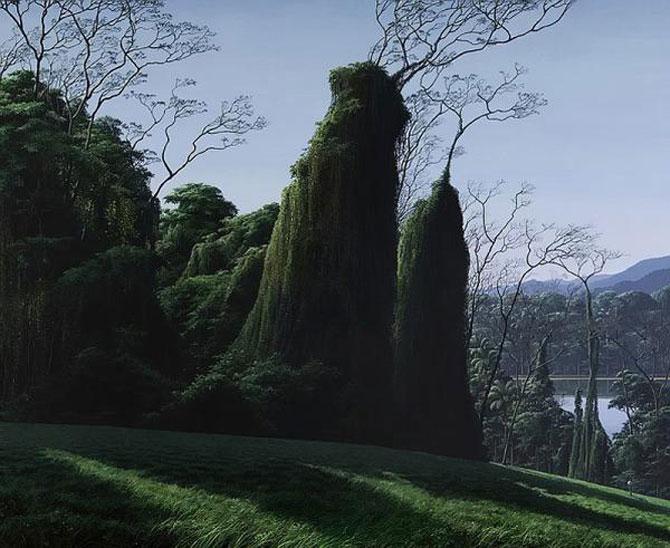 Pictorul norilor, cascadelor si colinelor – Tomas Sanchez - Poza 5