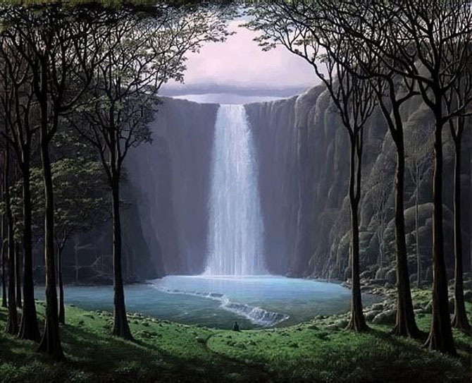 Pictorul norilor, cascadelor si colinelor – Tomas Sanchez - Poza 6
