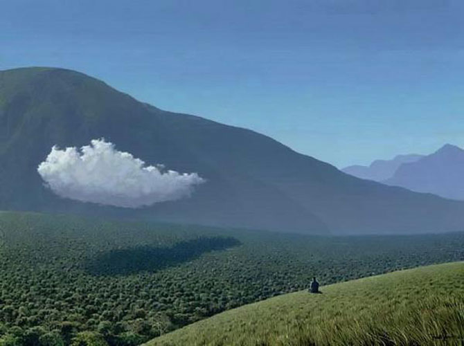 Pictorul norilor, cascadelor si colinelor – Tomas Sanchez - Poza 9