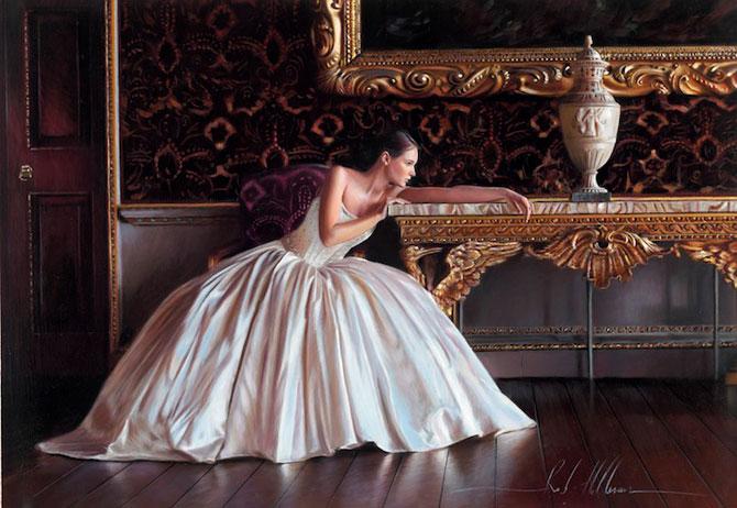 Picturi hiper-realiste cu o mireasa de poveste - Poza 2