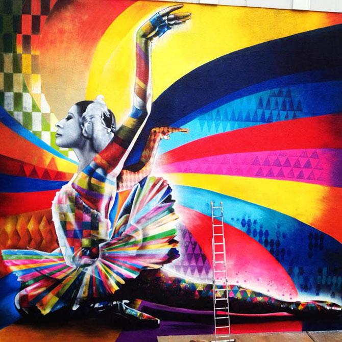 Balerina din grafitti: Maya Plisetskaya - Poza 1